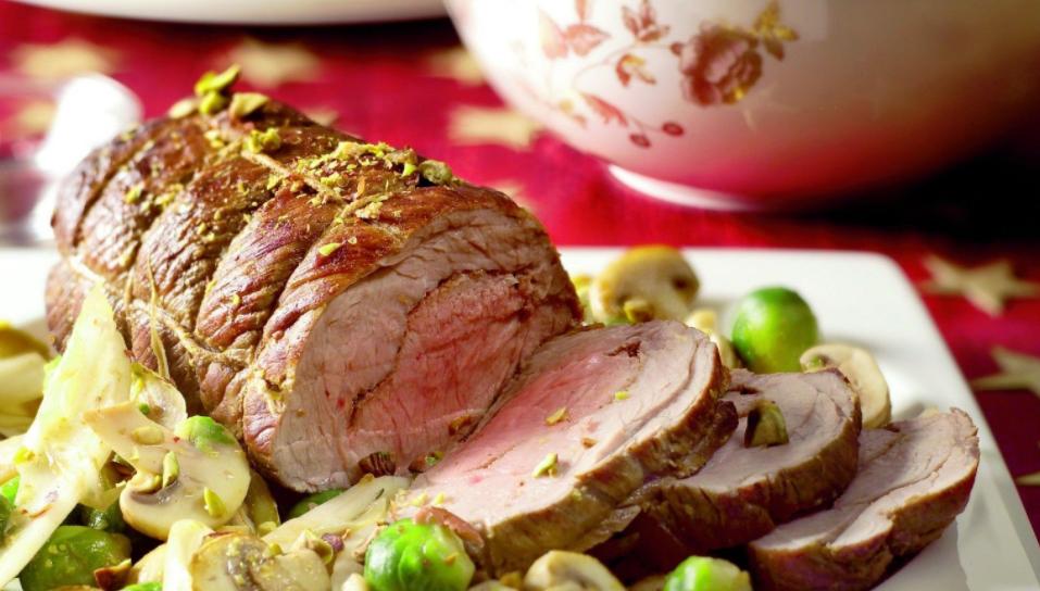 rollade met groenten en pistachenootjes kerstweblog nl