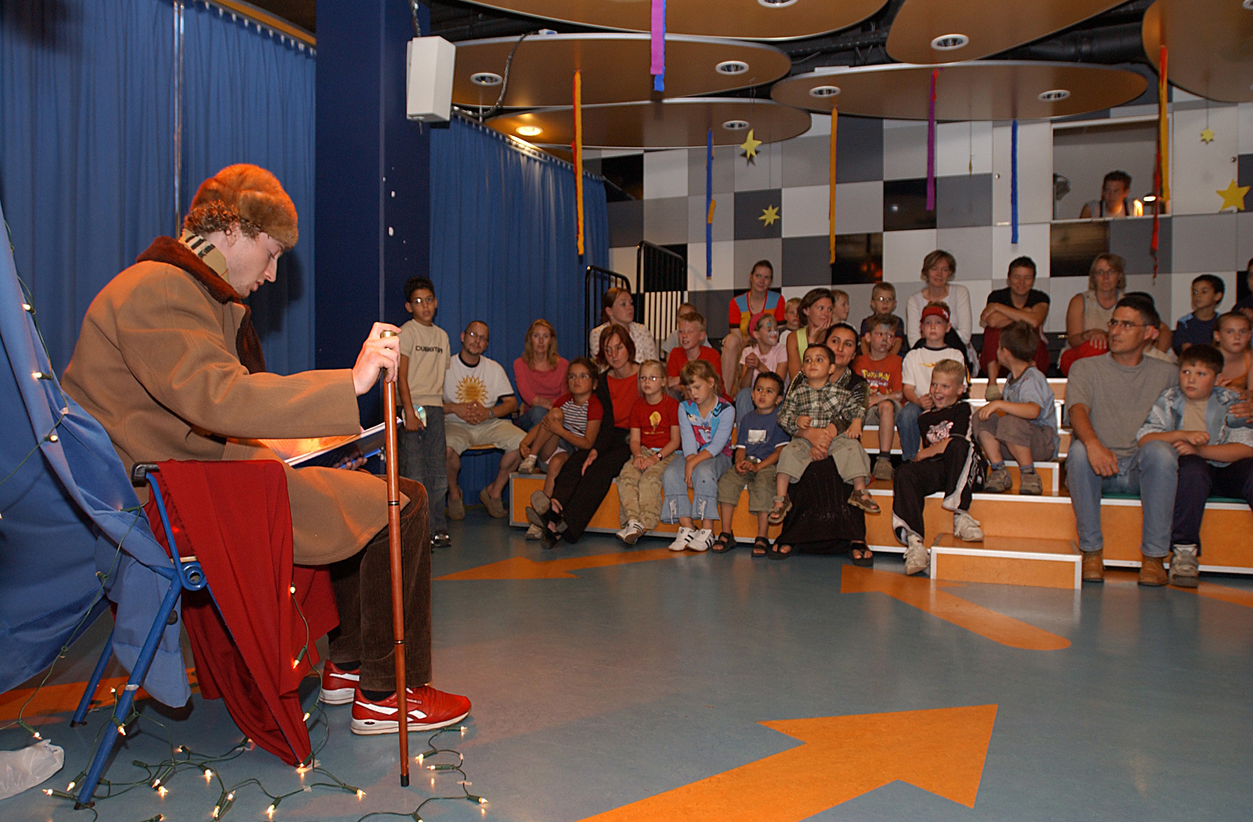 kindertheater-voorstelling