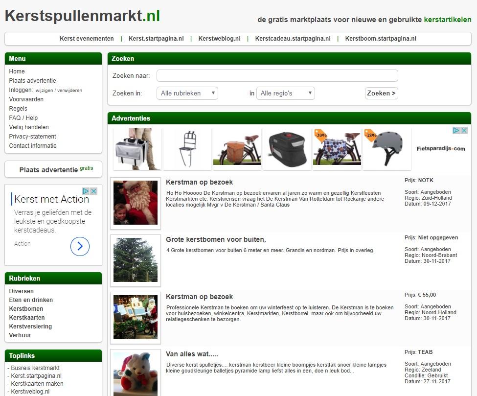 Startpagina Kerstkaarten Maken.Kerstspullenmarkt Kerstweblog Nl