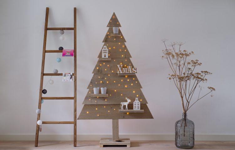 kerstboom steigerhout