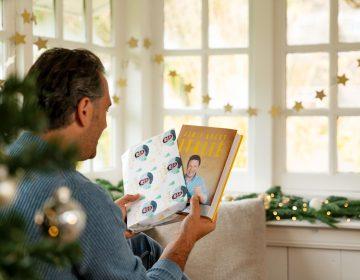 Greetz - Gepersonaliseerd cadeaupapier boek