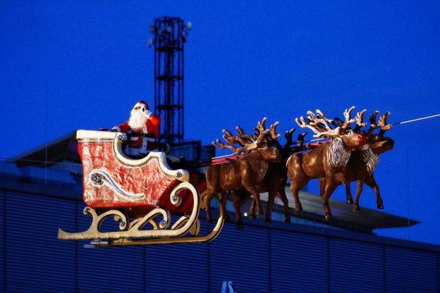 kerstman in Bochum