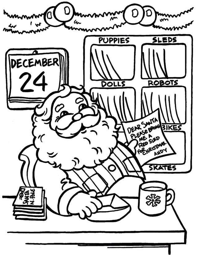 Kleurplaten Nieuwjaar En Kerstmis.Kerst Kleurplaat Kerstmis Verlanglijstje Kerstweblog Nl
